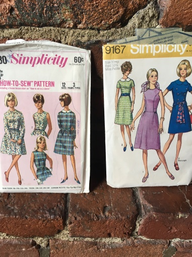 Retro Sewing with Simplicity Patterns