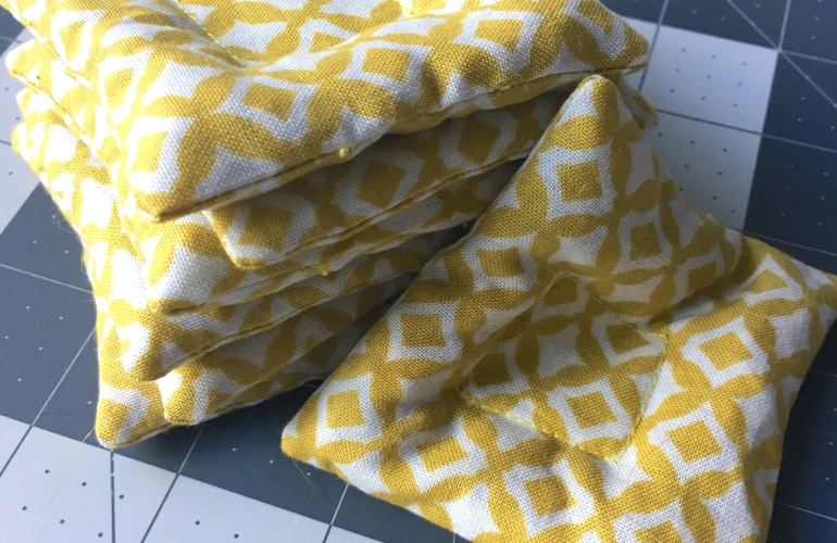 DIY Fabric Pattern Weights | Kettle and Cloth