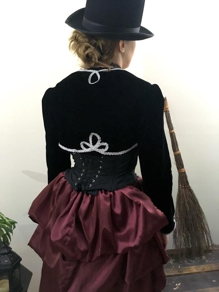 Victorian Corset Back