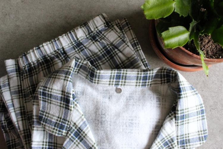 Handmade Gift Idea: Matching McCalls's Pajamas