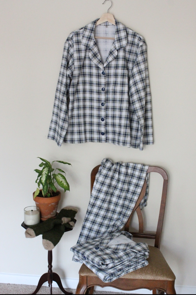 Handmade Gift Idea: Matching McCalls's Pajamas