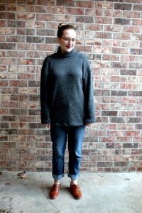 Simplicity Patterns Oversized Turtleneck Sweater