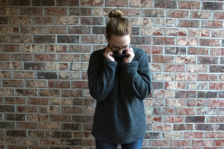 Simplicity Patterns Oversized Turtleneck Sweater