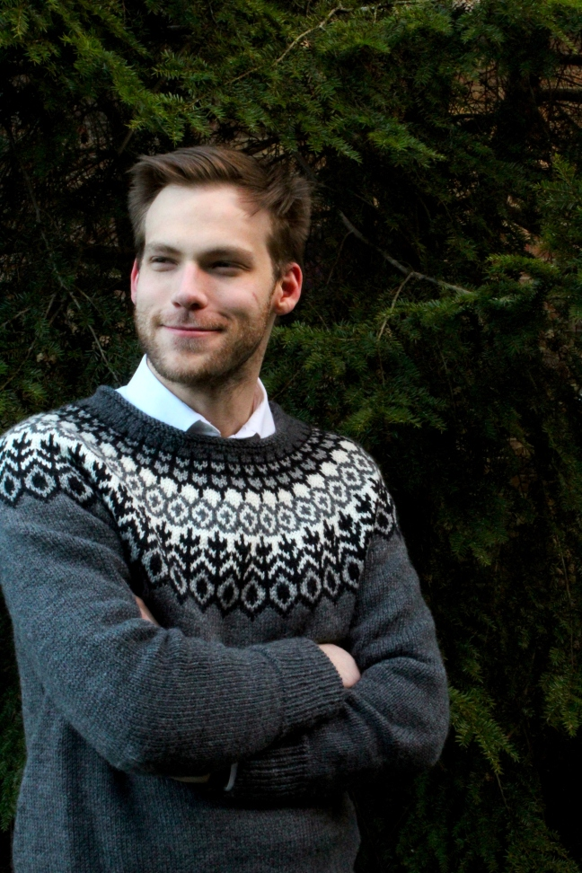 Handmade Sweater: Men's Brooklyn Tweed Grettir