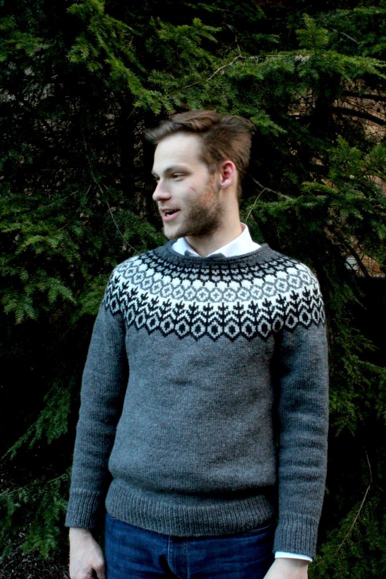 Handmade Sweater: Men's Brooklyn Tweed Grettir
